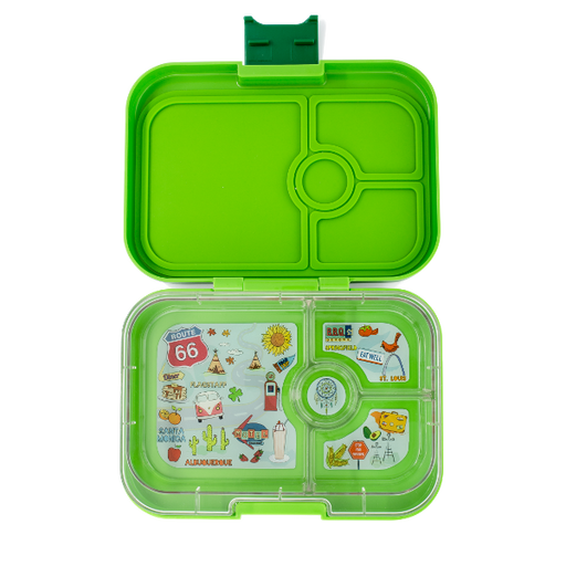 Yumbox - Panino - 4 Compartment - Avocado Green