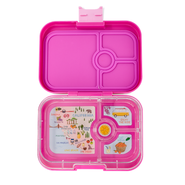 Yumbox - Panino - 4 Compartment - Malibu Purple
