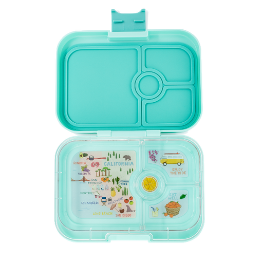 Yumbox - Panino - 4 Compartment - Surf Green