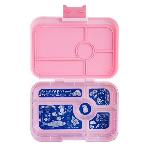 Yumbox - Tapas - 5 Compartment - Amalfi Pink
