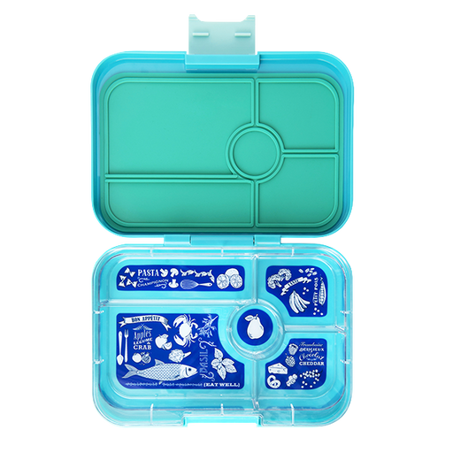 Yumbox - Tapas - 5 Compartment - Antibes Blue