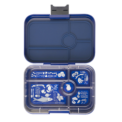 Yumbox - Tapas - 5 Compartment - Portofino Blue