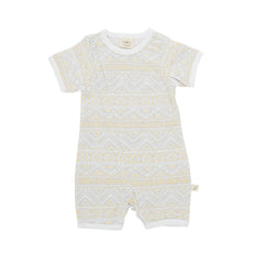 Tiny Twig - Short Sleeve Zipsuit - Tiny Tribal