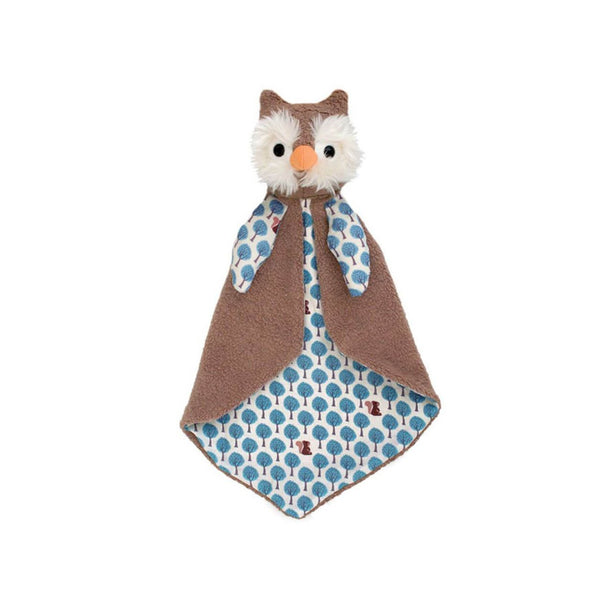 Apple Park - Owl Patterned Blankie - Eco Child