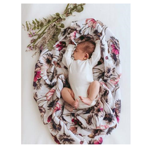Pop Ya Tot - All About Aster - 100% Organic Cotton Swaddle - Eco Child