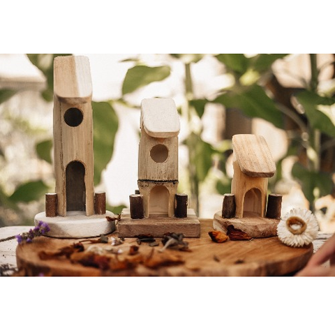 Qtoys - Natural Bamboo Fairy House - Eco Child