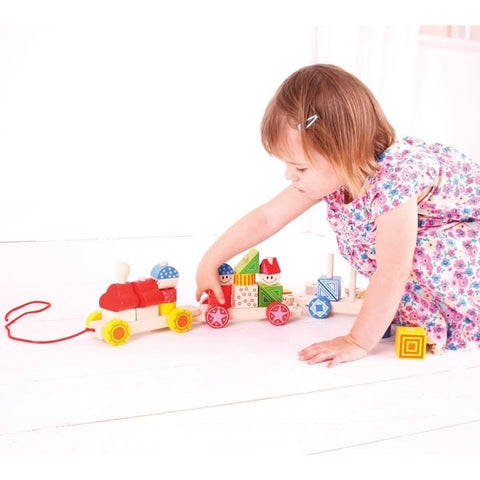 Bigjigs Toys - Big Build Up Train - Eco Child