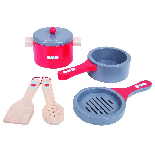 Bigjigs - Cooking Pans - Eco Child