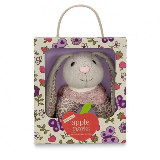 Apple Park - Bunny Patterned Rattle