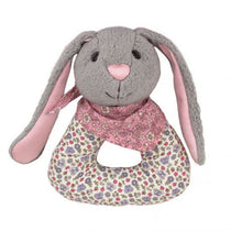 Apple Park - Bunny Patterned Rattle - Eco Child