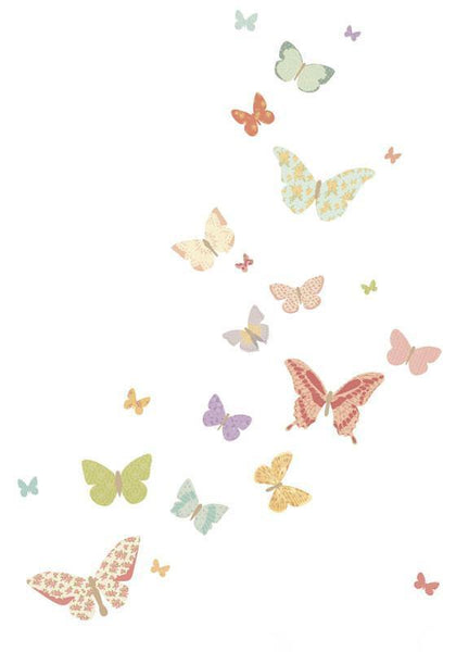 Love Mae - Reusable Decal - Butterflies - Girly - Eco Child