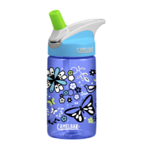 CamelBak Kids- Eddy Kids Water Bottles 0.4L - FlowerField - Eco Child