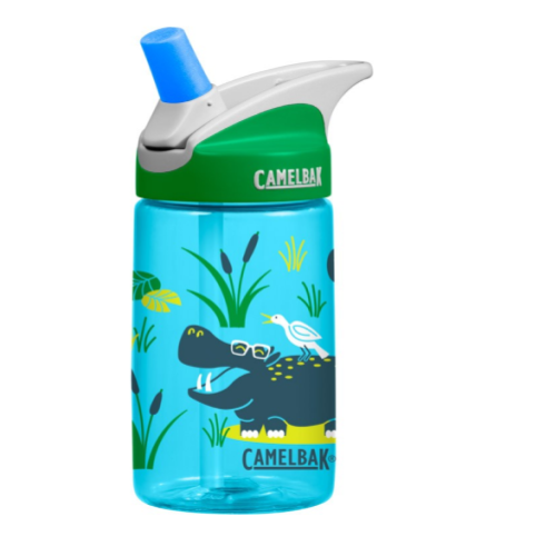 CamelBak Kids- Eddy Kids Water Bottles 0.4L - Hip Hippos - Eco Child