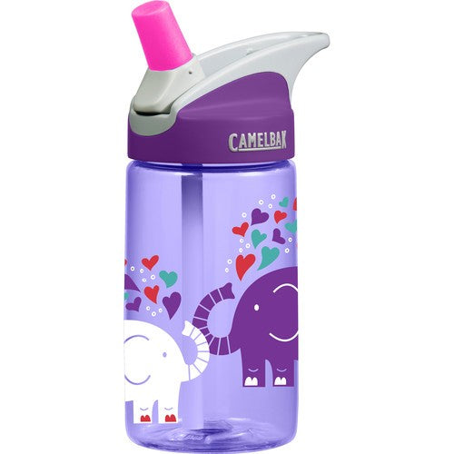 Camelbak Kids - Eddy Kids Water Bottles 0.4L - Elephant Love - Eco Child