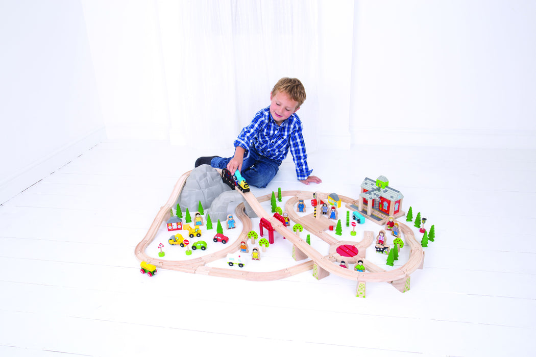 Bigjigs Toys - Mountain Railway Train Set