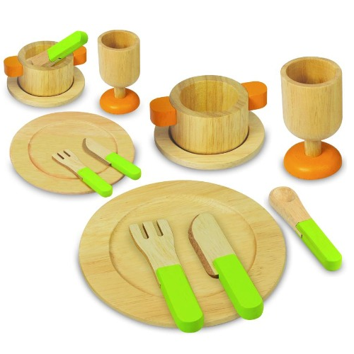 I'm Toy - Wooden Dining Set - Eco Child