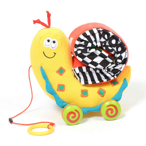 Dolce Toys - Pull Along Snail - Eco Child