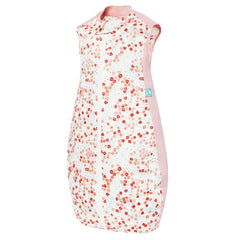 ergoPouch - Sheeting Sleep Bag (0.3 tog) - Pink Flower