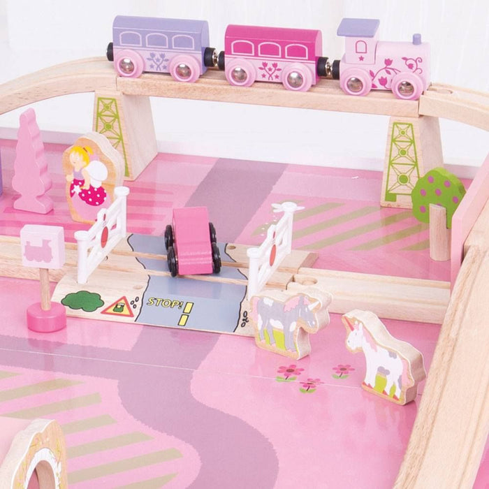 Bigjigs Toys - Magical Train Set and Table