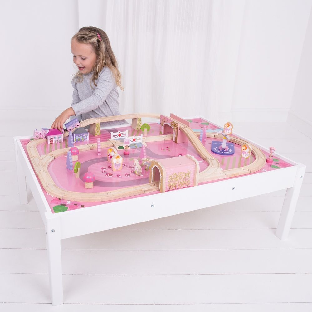 Bigjigs Toys - Magical Train Set and Table - Eco Child