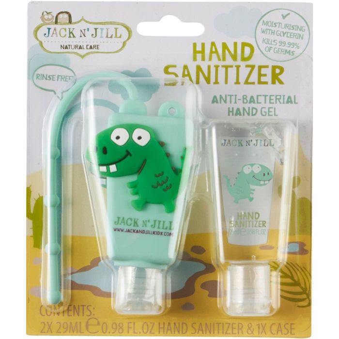 Jack N Jill -  Hand Sanitizer & Holder Dino - Eco Child