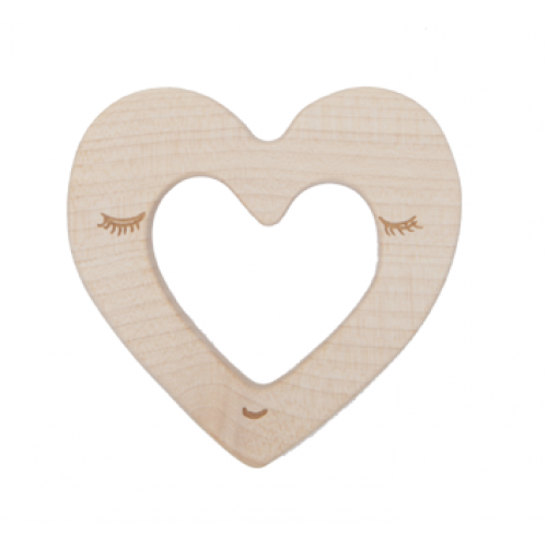 Wooden Story - Natural Teether - Heart