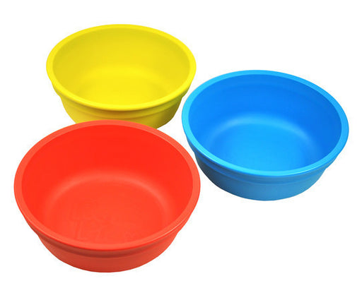 Re-Play Bowls - 3 Pack - Sky Blue, Red & Yellow