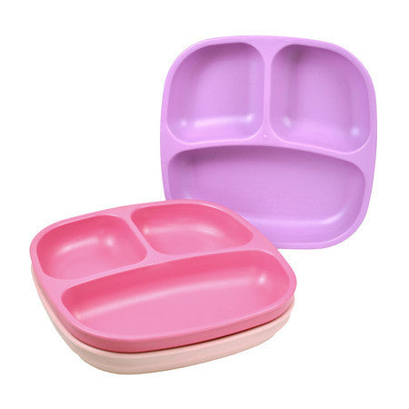 Re-Play Plates - 3 Pack - Purple, Bright Pink & Baby Pink