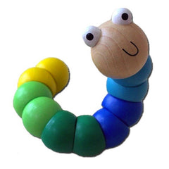 Kaper Kidz - Jointed Worm - Blue/Green