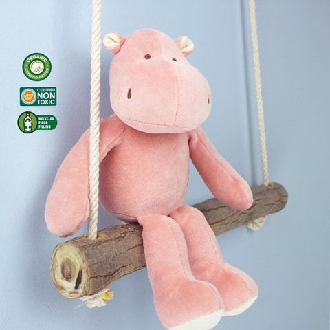 MIYIM -  100% Organic Storybook - Hippo - Eco Child