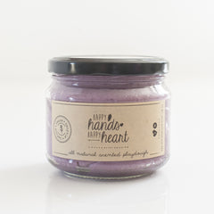 Happy Hands Happy Hearts Natural Playdough 400g - Lavender