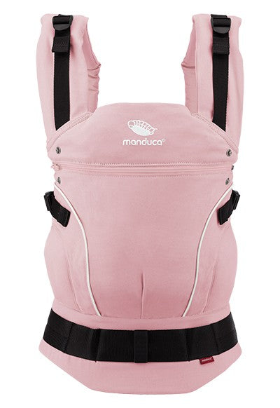 MANDUCA First - Pure Cotton Baby Carrier - Rose