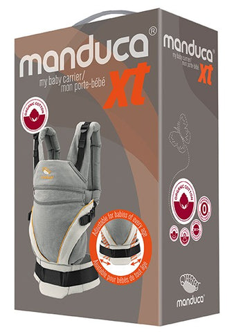 Manduca XT Pure Cotton - Grey/White