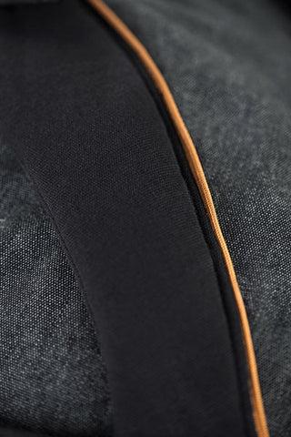 Manduca XT Pure Cotton - Denim Black/Toffee