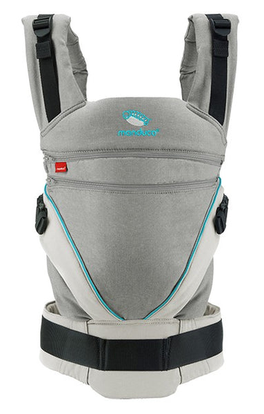 Manduca XT Pure Cotton - Grey/Ocean - Eco Child