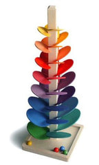 Gluckskafer - Musical Wooden Marble Tree - Large