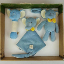 MiYim - Certified Organic Animal Gift Set - Elephent - Eco Child