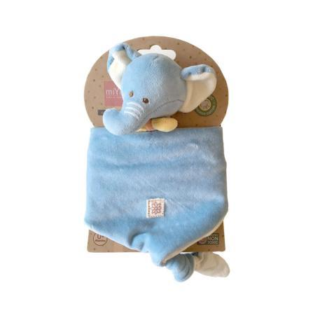 MIYIM - LOVIE 100% Organic BLANKET - ELEPHANT - Eco Child