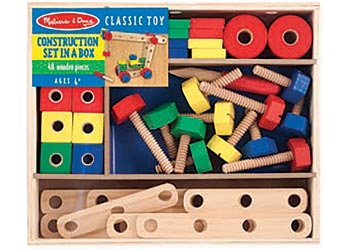Melissa & Doug - Construction Set