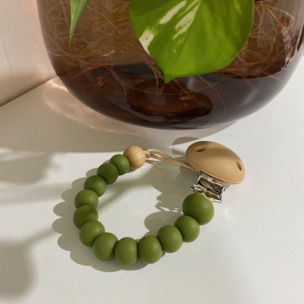 Nature Bubz - Dummy Chain - Olive - Eco Child