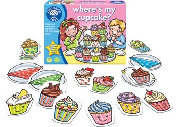 Orchard Toys - Where's my Cupacke?