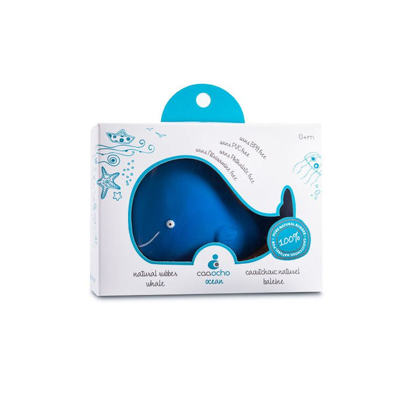 CaaOcho - 100% Natural Rubber - Bath Toy - Kala The Whale - Eco Child