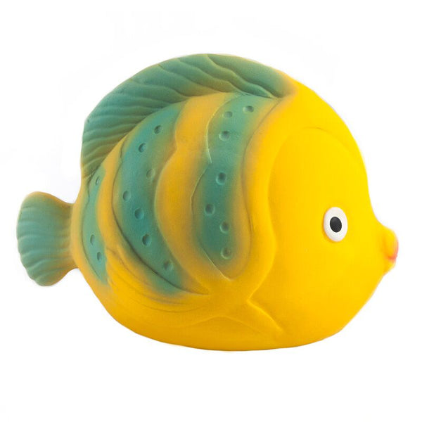 CaaOcho - 100% Natural Rubber - Bath Toy - La Butterfly Fish - Eco Child