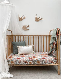 Pop Ya Tot - Le Piccadilly Muslin - Cot Sheet - Eco Child