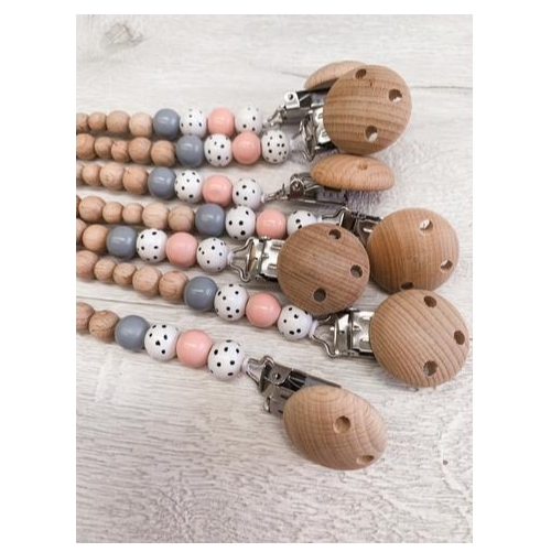 Pop Ya Tot - Dummy Chain - Ballet Blush - Eco Child