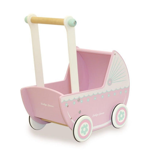 Indigo Jamm - Dolls Pram Pastel - Eco Child