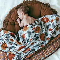 Pop Ya Tot - Buti Block - 100% Organic Cotton Swaddle - Eco Child