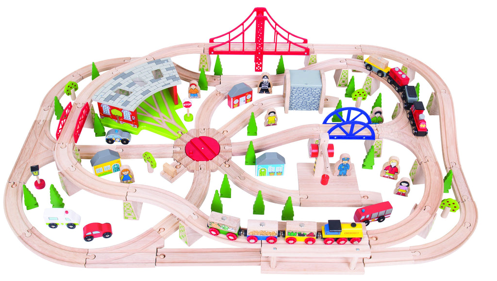 Bigjigs Toys - Freight Train Set - Eco Child
