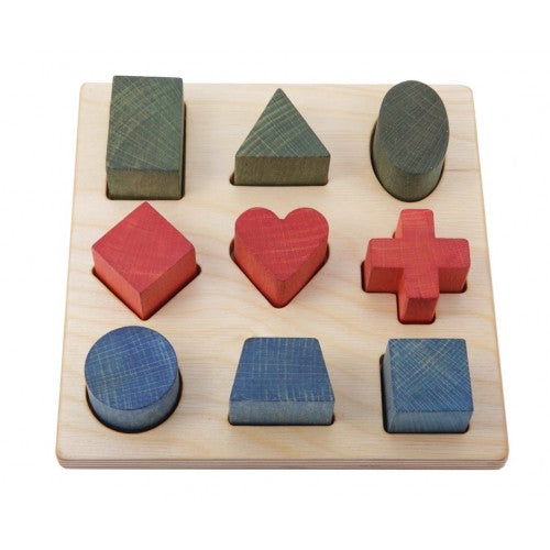 Wooden Story - Shape Puzzle
