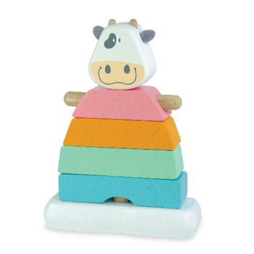 I'm Toy - Stacking Cow - Pastel - Eco Child